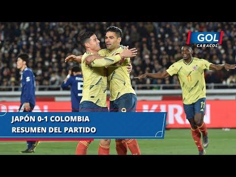 Colombia vs Japón (1 - 0), resumen del partido jugado en Yokohama   Gol Caracol