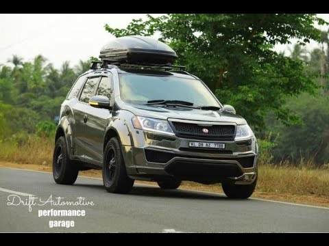 Mahindra Xuv Modified With Motormind Bodykit By Drift