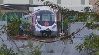 Delhi Metro Magenta Line Accident
