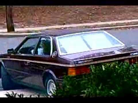 1984 maserati biturbo test drive
