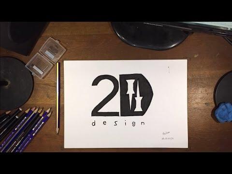 2D Desing Logo Drawing 2D Tasarım Logosu Çizimi #8