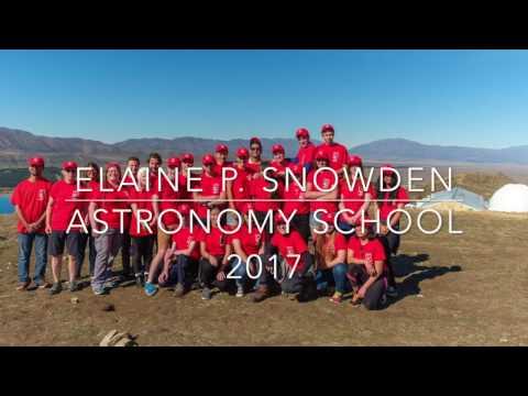 Elaine P. Snowden Astronomy School 2017