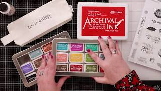 The Best Tips for 3 Ranger Archival Ink Pad - Inktoberfest Day 25