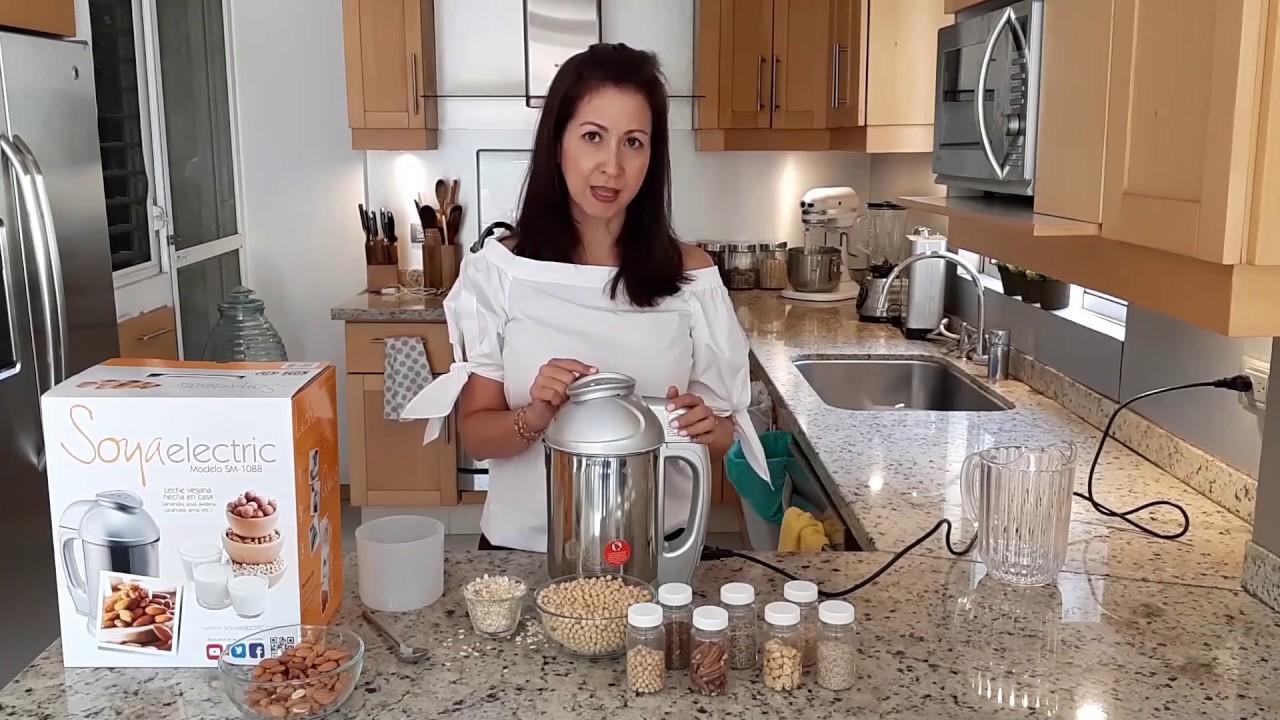 ¿Cómo hacer leche de soya?