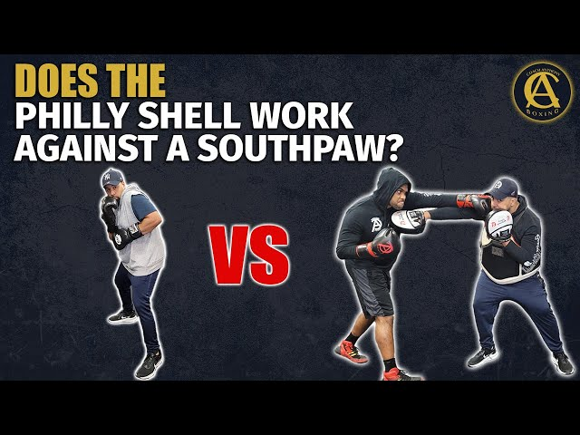 Does The Philly Shell Work Against a Southpaw?? [ BOXING ]