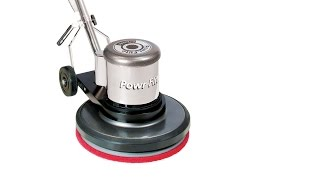 "Powr-Flite 17"" Classic Metal Floor Machine Introduction"