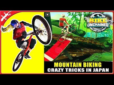 Bike Unchained : Crazy Tricks On Japanese Mountains (ios Gameplay)