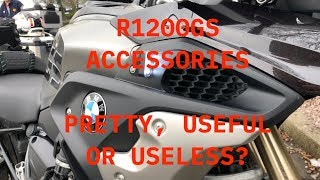 2018 R1200GS Accessories-Dave and I talk Pretty, Useful or Useless