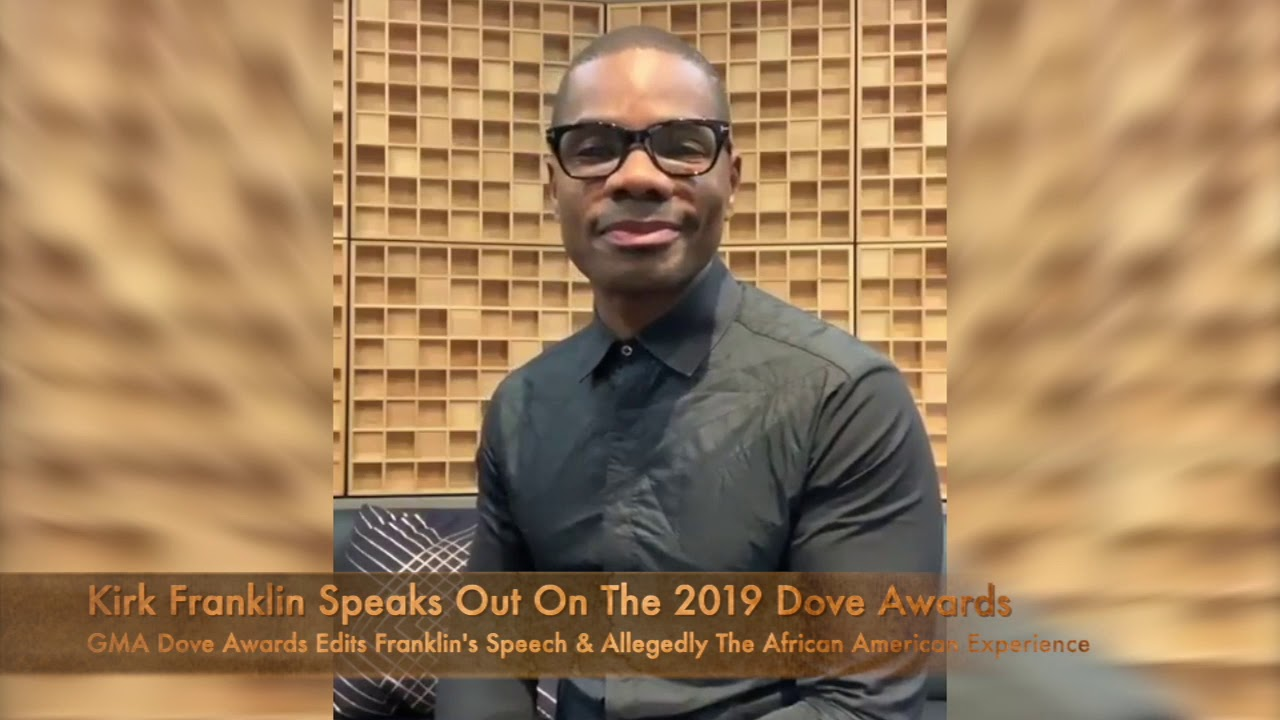 Kirk Franklin Address TBN DOVE Awards Speech Diss  [VIDEO]
