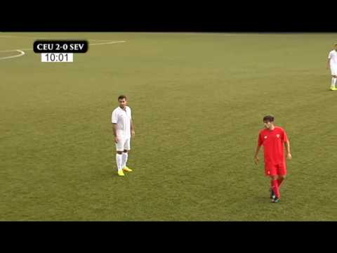 AD CEUTA FC - SEVILLA FC C - 2ª PARTE
