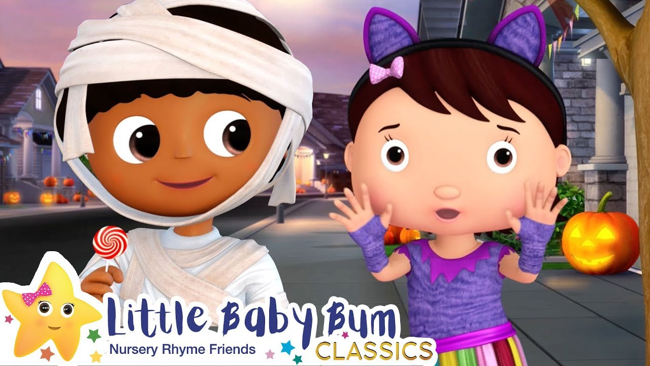 Trick or Treat Song - Halloween | Nursery Rhymes & Kids Songs - ABCs and 123s | Little Baby Bum
