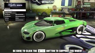 GTA 5 Online: How To Get COLOURED CHROME On Cars (How To Add Colour Chrome To A Car) GTA V Tutorial