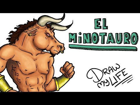 LA Hª DEL TERRIBLE MINOTAURO | Draw My Life