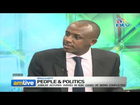 Mutula Kilonzo Jr explains the grounds for recusal of a judge from a case