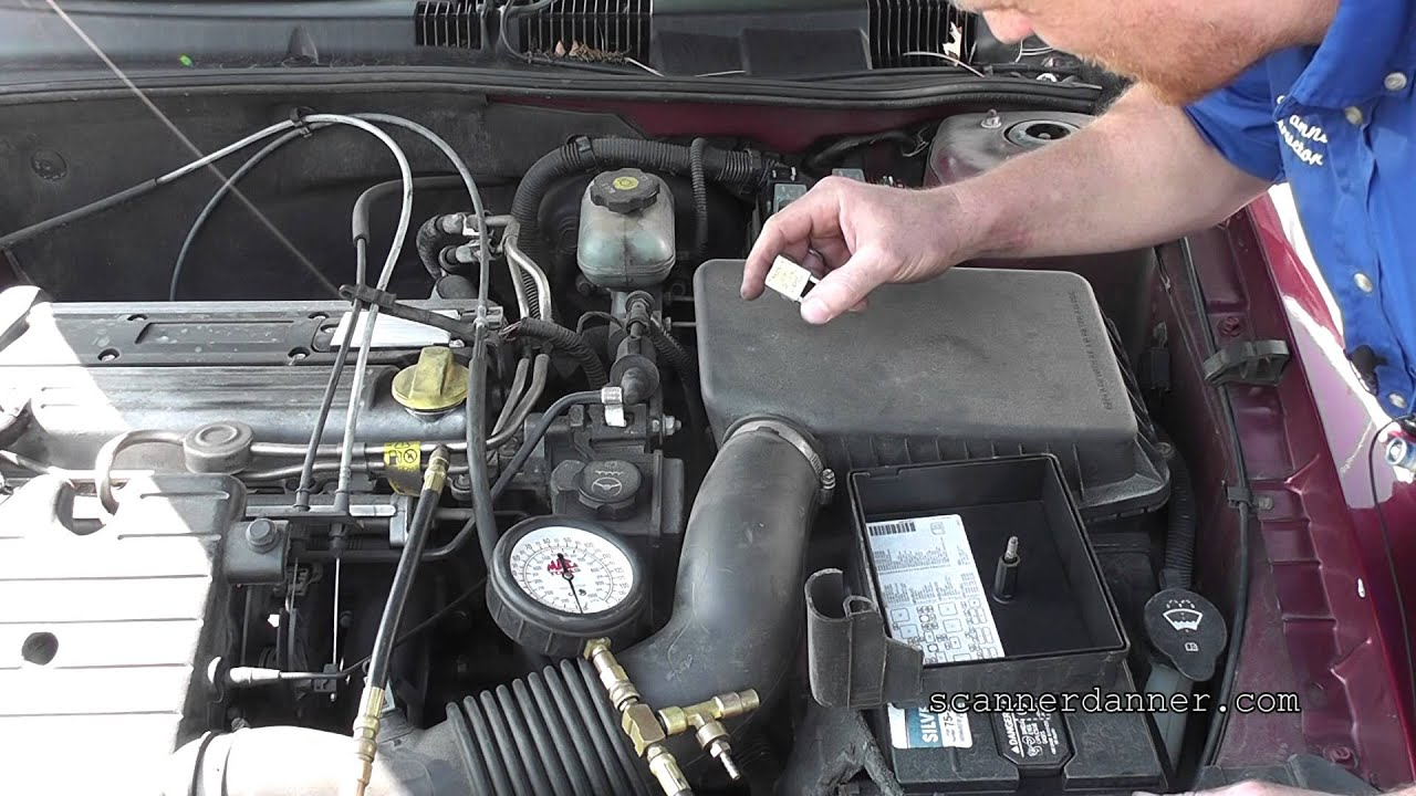 no start no fuel pressure troubleshooting gm 2 2 ecotec [ 1280 x 720 Pixel ]