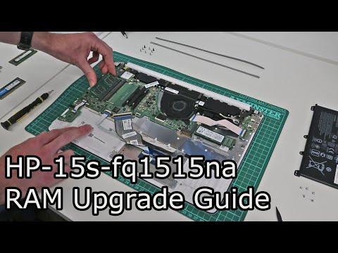 HP 15s-fq1515na RAM Upgrade Guide