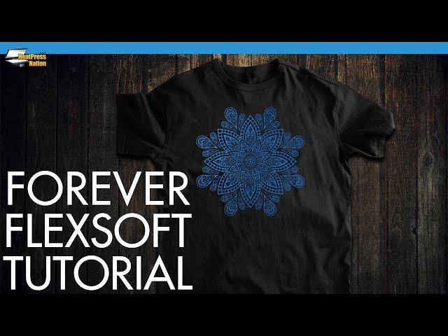 Heat Pressing Detailed Design with Forever Flex Soft Heat Transfer