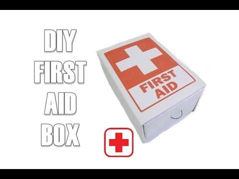 DIY FIRST AID Box / Kotak P3K dari kardus
