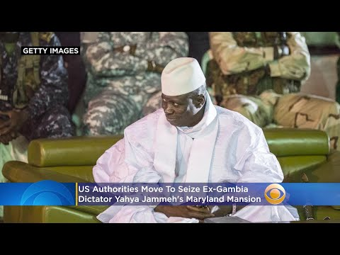 US Authorities Move To Seize Ex-Gambia Dictator Yahya Jammeh's Maryland Mansion