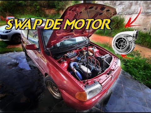 SWAP DE MOTOR AP 2.0 TURBO FORJADO NO GOL G2 (GOL BOLA) ‹ Kristian Wernek ›