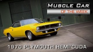 Muscle Car Of The Week Video Episode #169: 1970 Plymouth Hemi'Cuda V8TV