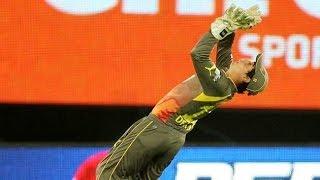 CSK batting aganist Sunrisers Hyderabad ipl T20 nice catch