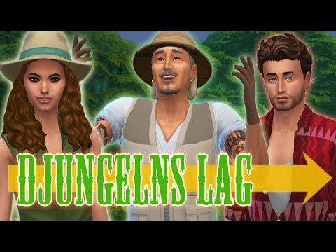 The Sims 4 DJUNGELNS LAG - Del 1: Familjeresan