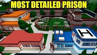 CRAZY DETAILED JAILBREAK PRISON in Bloxburg (Roblox)