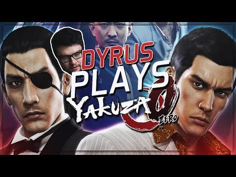 DYRUS PLAYS YAKUZA 0: THE RIGGED CRANE GAME