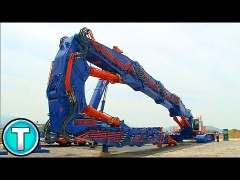 Tallest Demolition Machine | Kobelco SK3500D