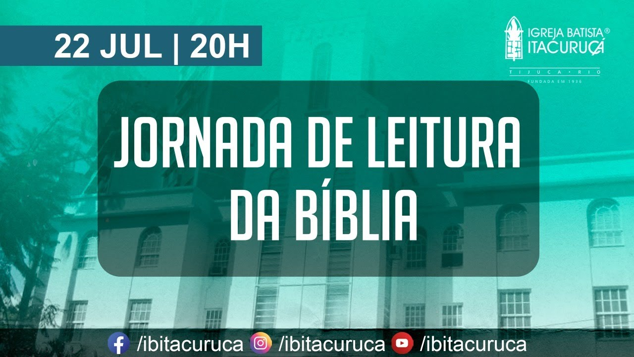 JORNADA DE LITURA DA BÍBLIA