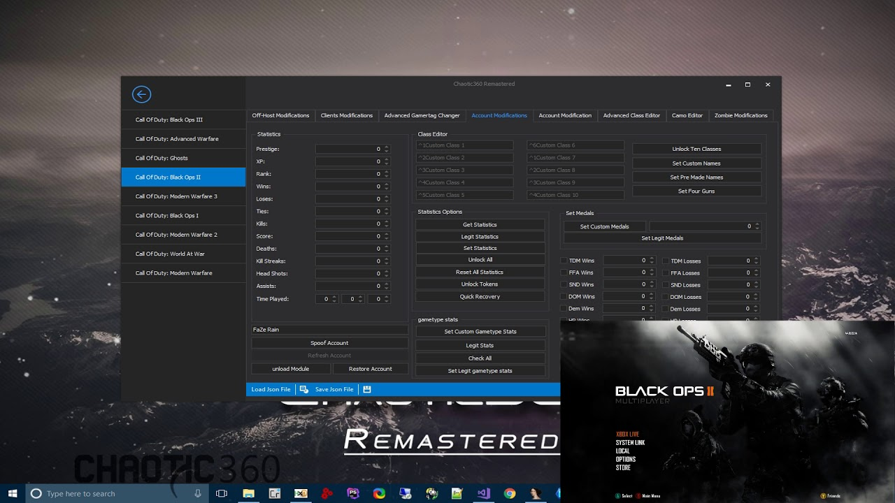 Chaotic360 Black Ops 2 Remote Recovery Tool