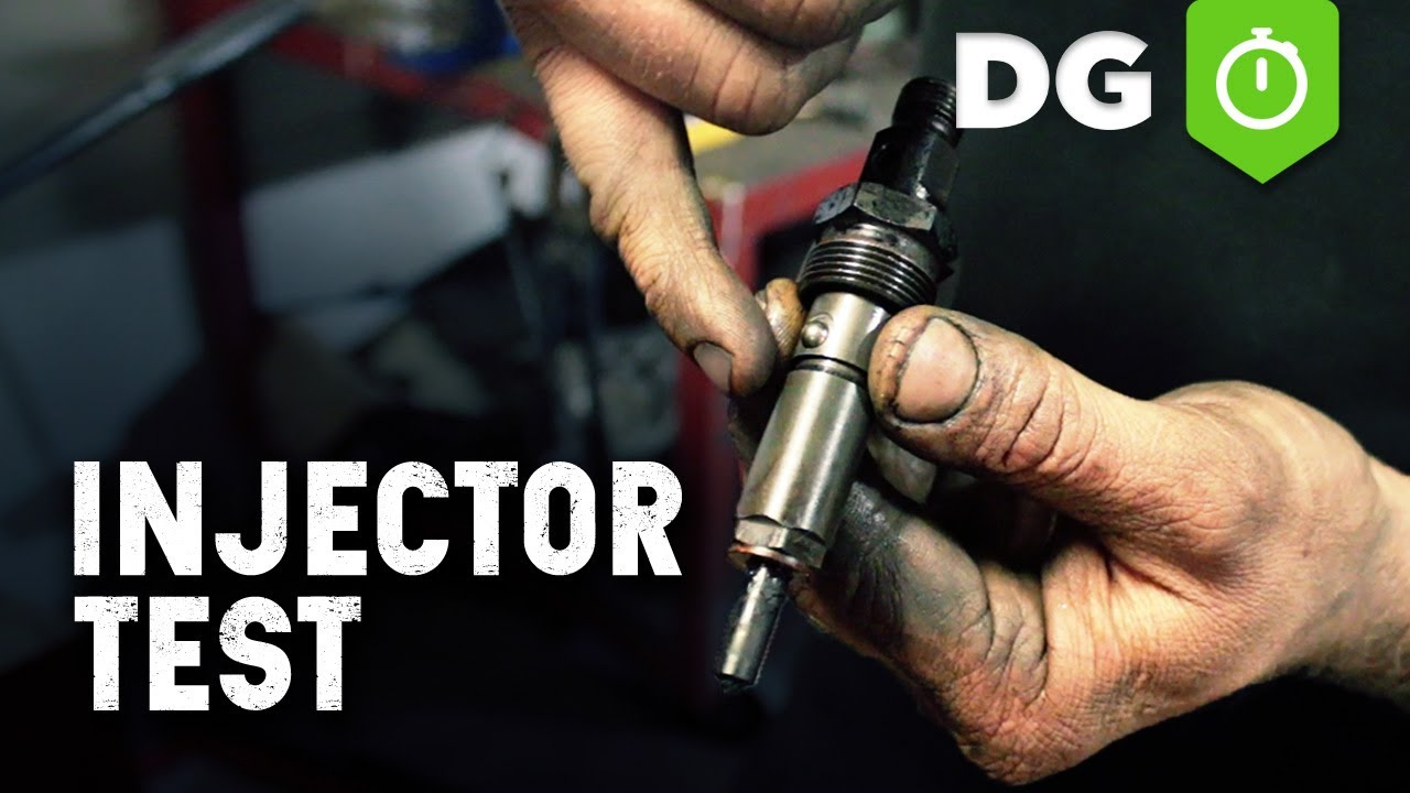 Bad Diesel Set Diesel Fuel Injector Test Mechanical