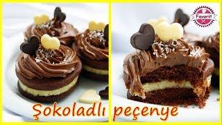 🔵 Şokoladlı peçenye hazırlanması | Çox yumşaq və dadlı şokoladlı kremli peçenye resepti |