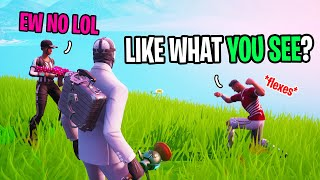 Soccer Skin Tried Impressing His Crush With 90s on Fortnite...