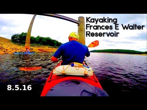 Kayaking Frances E Walter Reservoir: 8.5.16