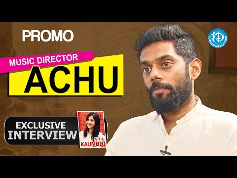 Music Director Achu Rajamani Exclusive Interview - Promo || Talking Movies with iDream