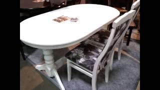 Кухонная мебель.  Стол обеденный Говерла и стулья Чумак(Кухонная мебель. Стол обеденный Говерла и стулья Чумак Стол обеденный Говерла Страна производитель Украин..., 2016-07-08T07:35:19.000Z)