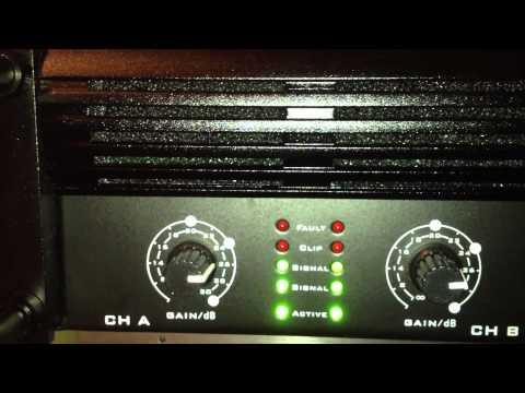 the t.amp TA600 MK-X mit Behringer DX626 und Mivoc SB 210MKII