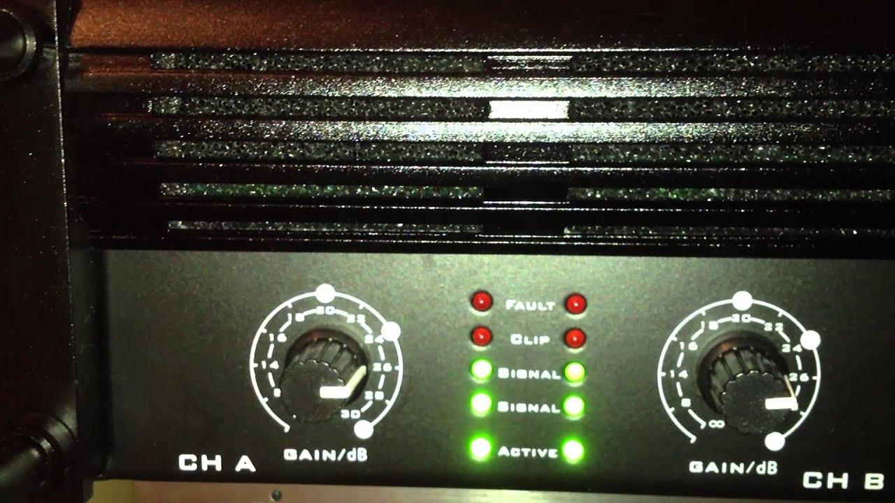 the t ta600 mk x mit behringer dx626 und mivoc sb