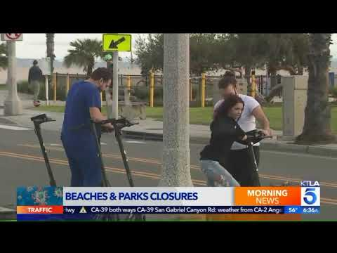 List Of L.A. Area Beach, Park Closures Continues To Grow