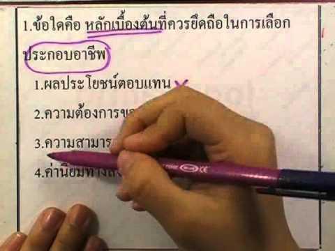 ข้อสอบเข้าม.1 : สังคม ชุด01 ข้อ01