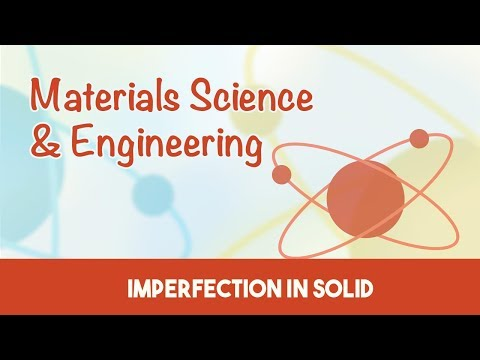 Material Science & Engineering | Imperfections in Solid Materials | 2 & 3 Dimensional Defects | 4.4