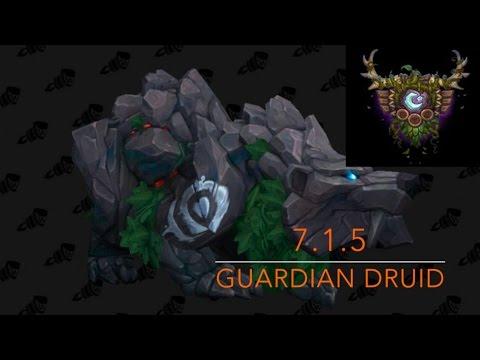 7.1.5 GUARDIAN DRUID TANK GUIDE!!