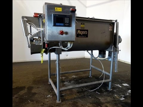 Used- Mepaco Twin Shaft Paddle Mixer, Model # 170 - stock # 45729001