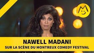 Nawell Madani sur la scène du Montreux Comedy Festival