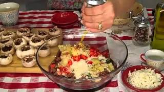Italian Sausage Stuffed Mushrooms By Rosalie Fiorino Harpole