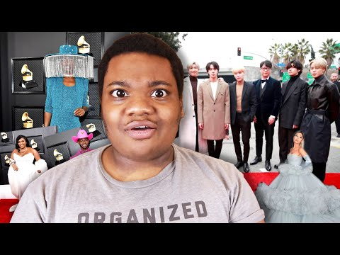 Yet Another Grammys Red Carpet Review (lil Nas X, BTS, Ariana Grande.. etc.)
