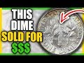 RARE 1960 DIMES WORTH MONEY - SUPER RARE COINS TO LOOK FOR!!