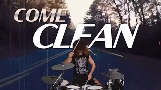 Don Crash Live: H.E.A.T Come Clean drum cover and chat